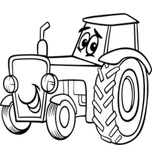 Afbeelding Tractor John Deere Kleurplaat Funny Tractor Clipart Clipart Suggest