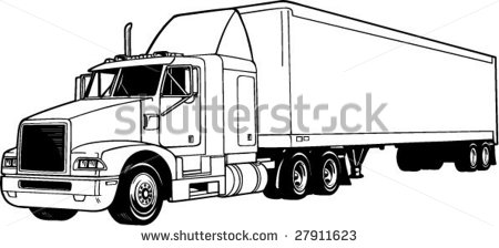 Tractor Trailer Stock Photos Images   Pictures   Shutterstock