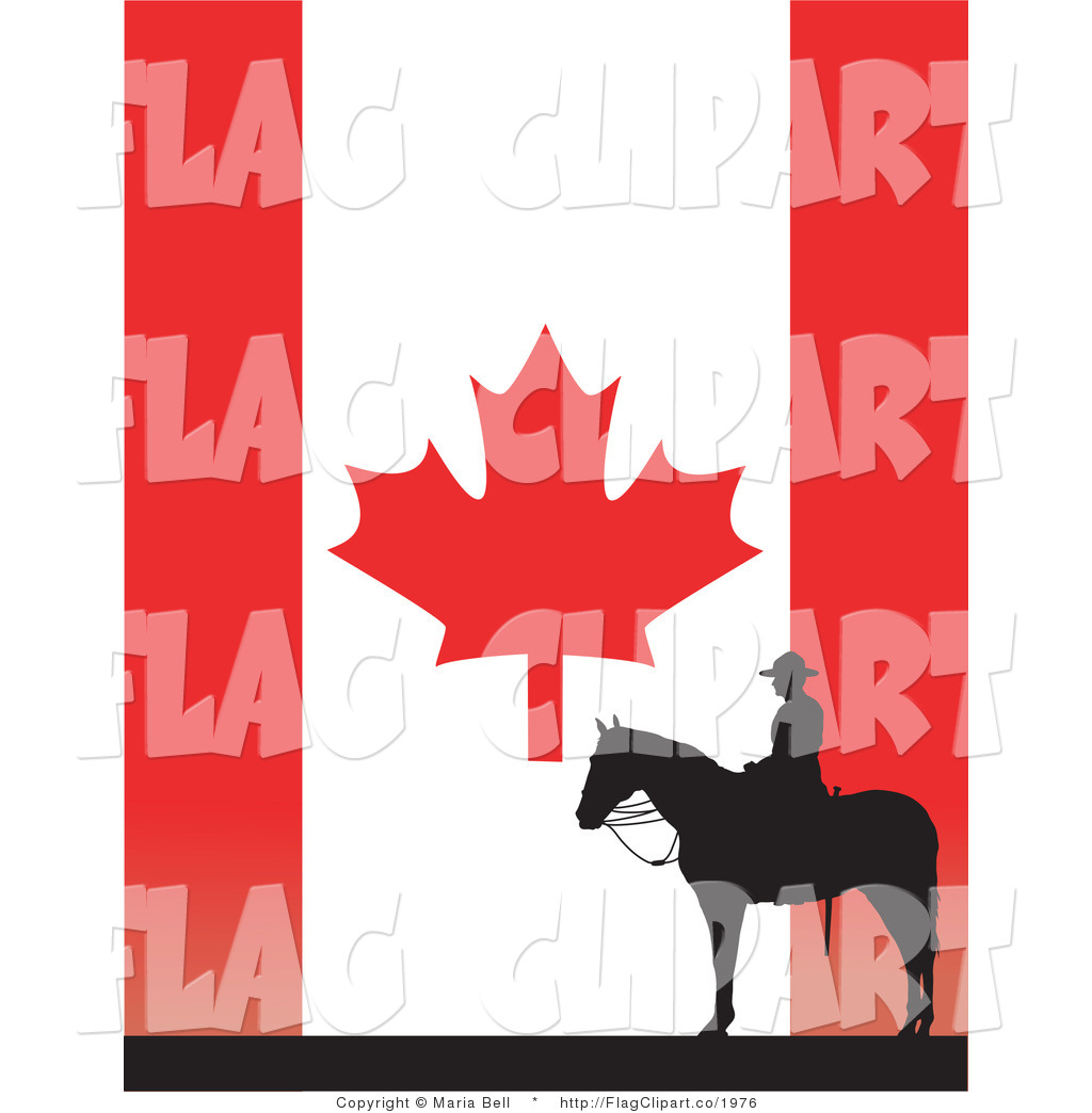 Canadian Maple Leaf Flag Flag Clip Art Maria Bell
