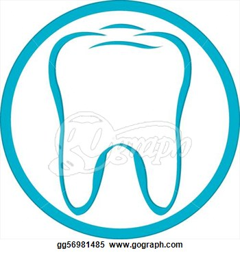 Cute Dental Clipart Logo Tooth   Royalty Free Clip