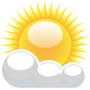 Cute Partly Cloudy Clipart Partly Cloudy With Sunshine