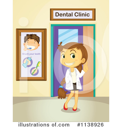 Dentist Clipart  1138926   Illustration By Colematt