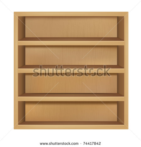 Empty Shelves Clip Art