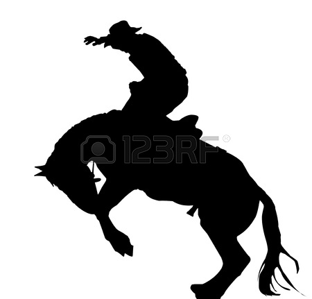 Go Back   Gallery For   Rodeo Silhouette Png