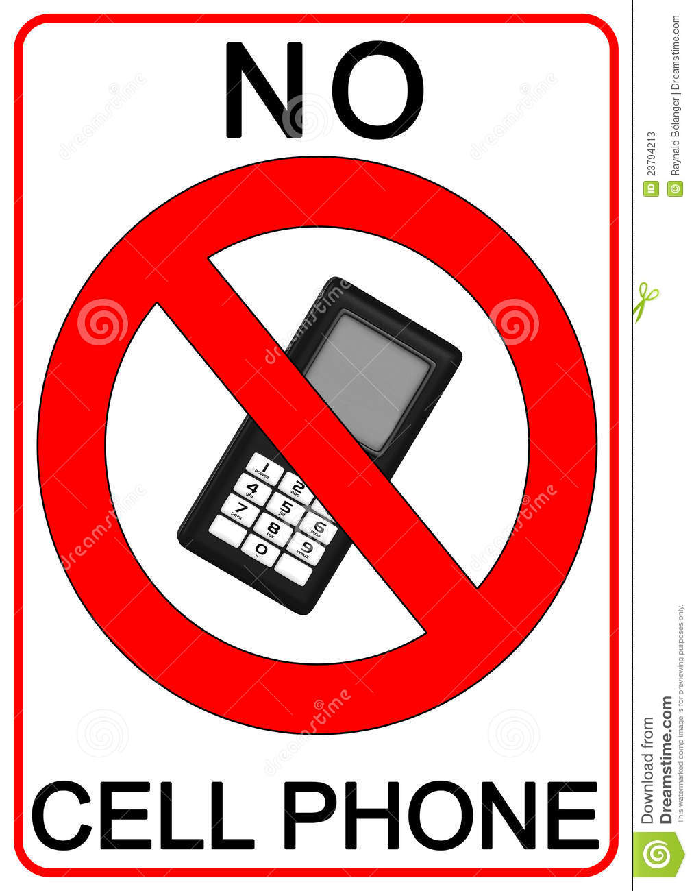 no cell phone clipart free - photo #36