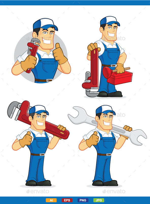 Graphicriver Plumber 11990111