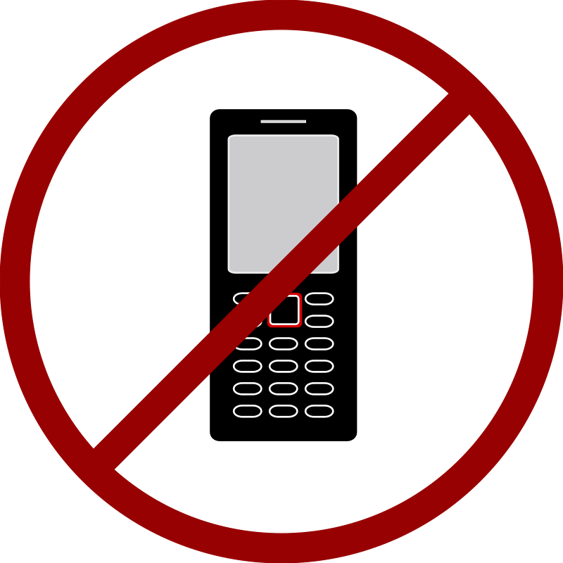 No Cell Phone Clipart - Clipart Kid