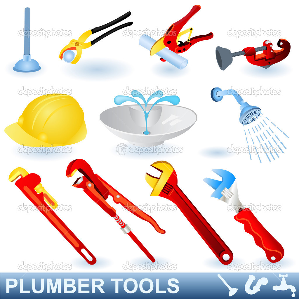 Plumber Tools Clipart - Clipart Suggest