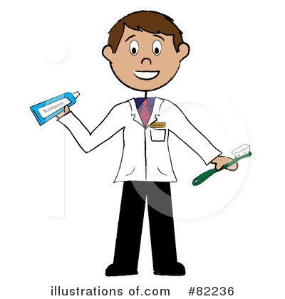Royalty Free  Rf  Dentist Clipart Illustration By Pams Clipart   Stock
