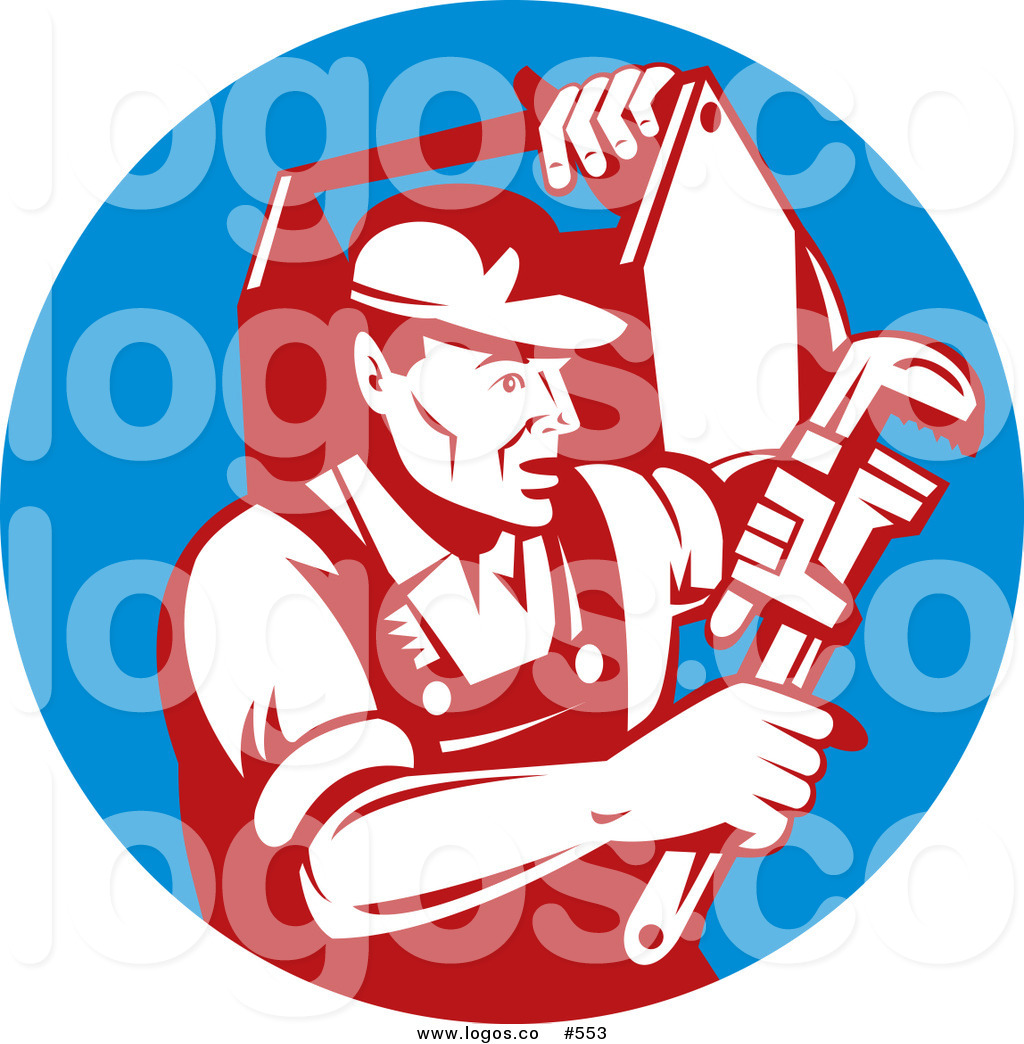 Royalty Free Stock Logo Clipart Of Plumbers