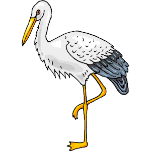 Stork 07 Clipart Cliparts Of Stork 07 Free Download  Wmf Eps Emf