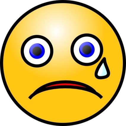 Cartoon Sad Face With Tears Images   Pictures   Becuo
