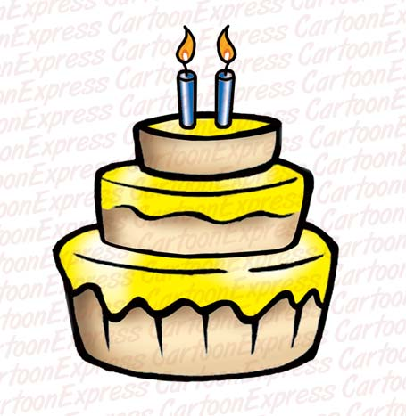Cake With Birthday Candles Clipart - Clipart Suggest