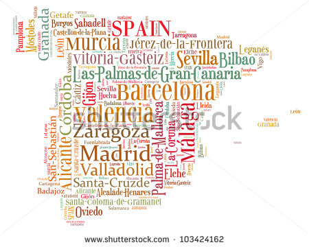 Spanish Words Clipart - Clipart Kid