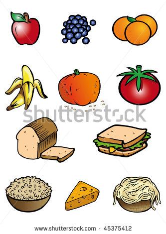 Clip Art Grains Food Group Clipart - Clipart Suggest