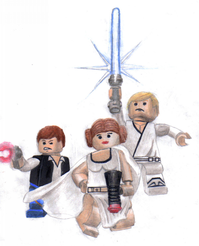 Lego Star Wars Clipart Lego Star Wars By