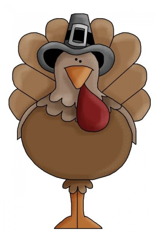 Thanksgiving Turkey Clipart To Gobble Over