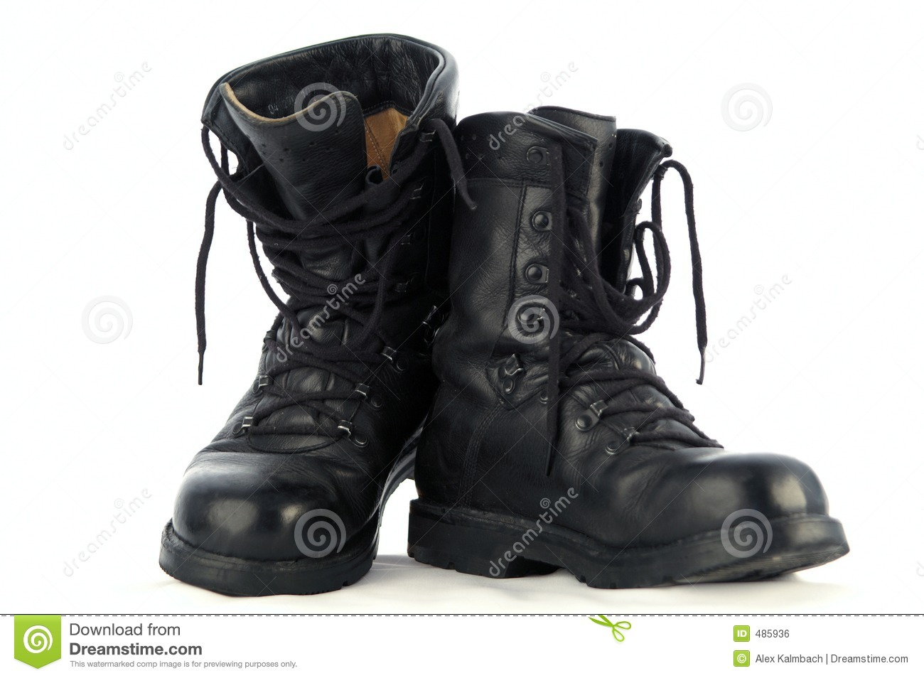 Army Boots Royalty Free Stock Image   Image  485936