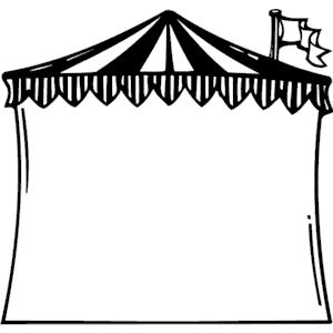 Circus Tent Frame Clipart Cliparts Of Circus Tent Frame Free Download