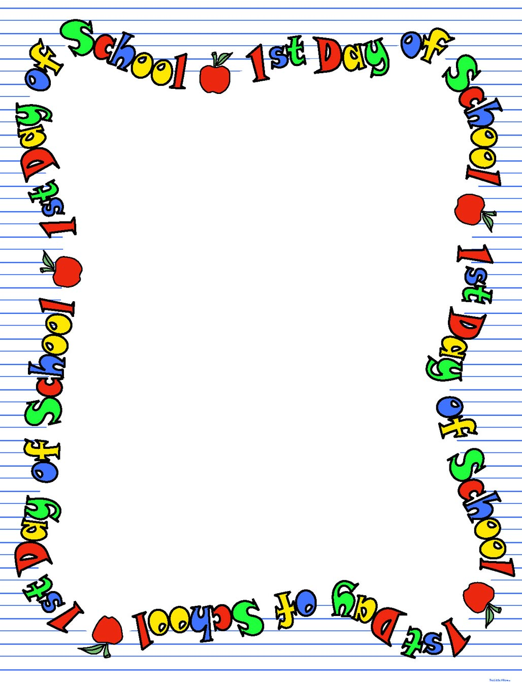 School Border Clipart - Clipart Suggest