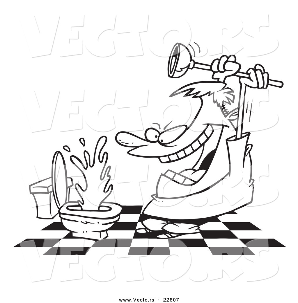 Cartoon Toilet Clipart Clipart Suggest