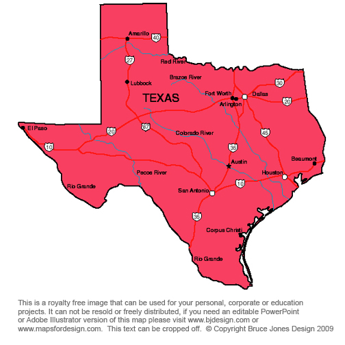 clipart map of texas - photo #35