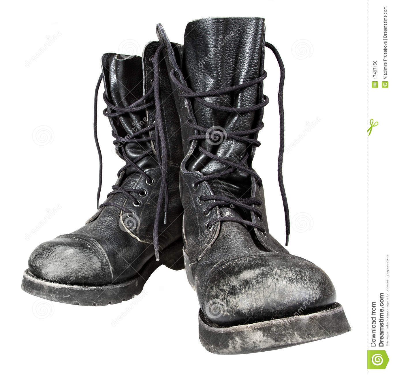 Military Boots Stock Photo   Image  17497150