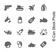 Military Clipart Vector Graphics  25981 Military Eps Clip Art Vector