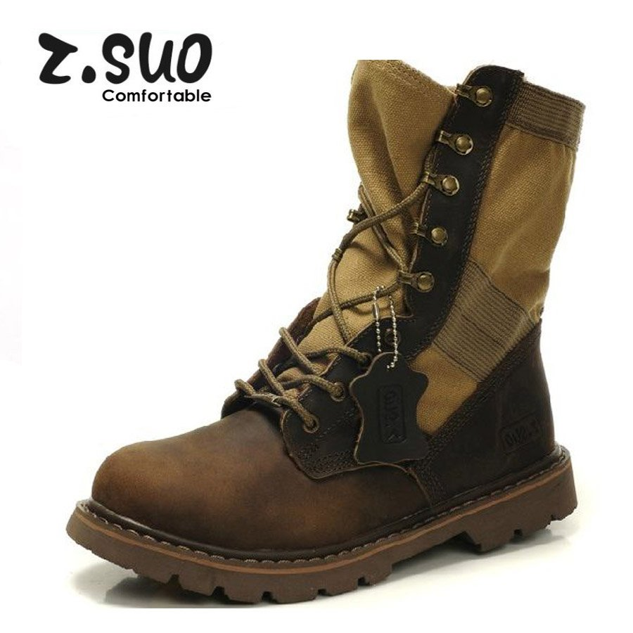 Military Combat Boots For Men