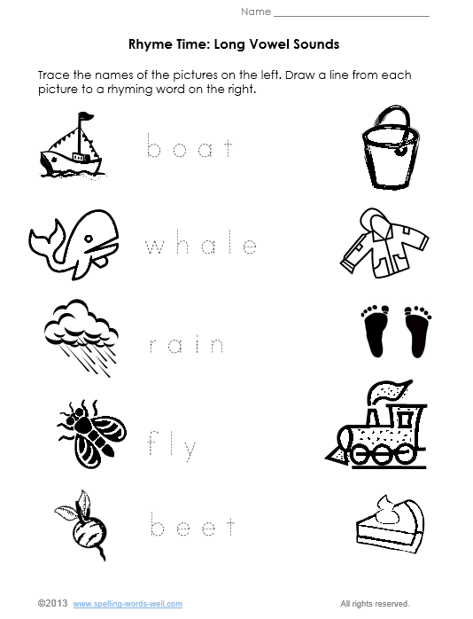 Free Printable Phonics Worksheets - Templates and Worksheets
