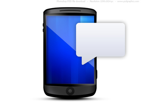 Cell Phone Message Clip Art