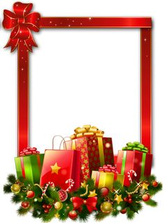 Presents Free Transparent   Red Large Christmas Transparent Png Photo
