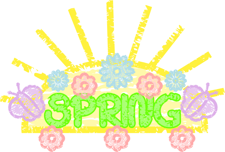Spring Is Here You Can Use This Nice Spring Art Work Clip Art On
