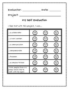 Student Self Evaluation On Pinterest   Student Led Conferences Parent