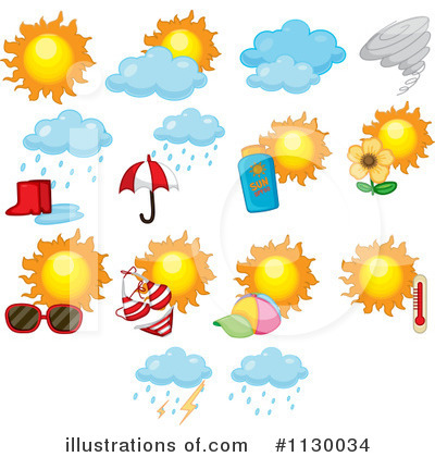Weather Clipart  1130034   Illustration By Colematt