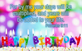 Birthday Bible Verses