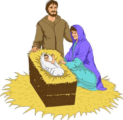 Nativity Scene Clipart - Clipart Kid