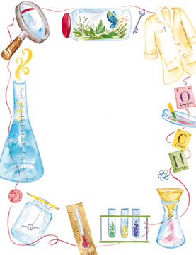 Science Border Clipart - Clipart Kid