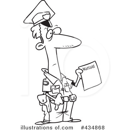 Royalty Free  Rf  Police Clipart Illustration By Ron Leishman   Stock