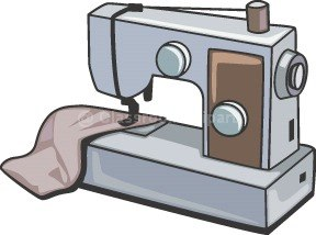 Sewing Machine Clipart - Clipart Kid