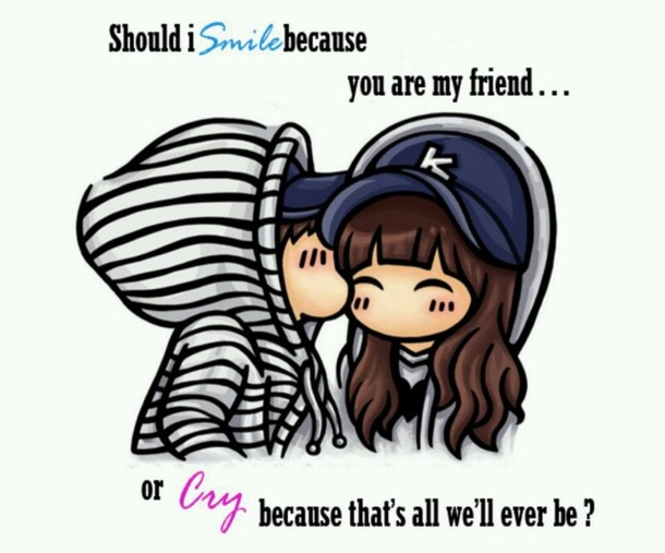 Boy Girl Friends Love Pretty Quotes Quote   Image  594407 On Favim