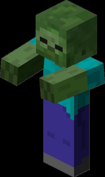 Minecraft Zombie Clipart