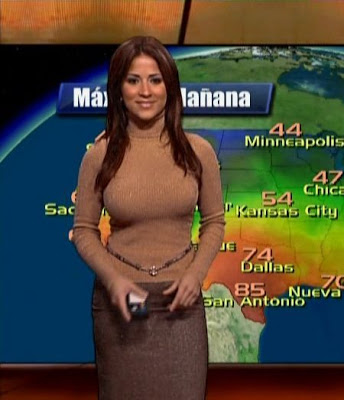 Real Think Tank  10 Hottest Weather Girls Ever   Mexican Tv Is Amazing