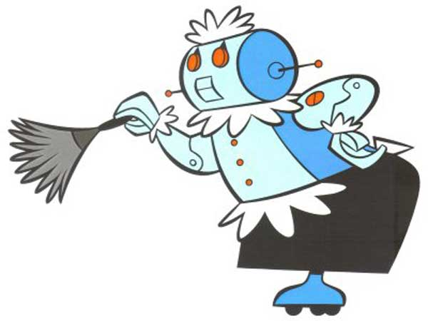 Robot Maid Rosie From The Animated Show The Jetsons Here Is A Robot