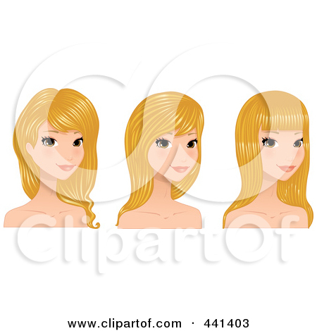 Royalty Free  Rf  Pretty Girl Clipart   Illustrations  1