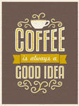 Vintage Style Coffee Poster Brazilian Coffee Vintage Poster Wallpaper
