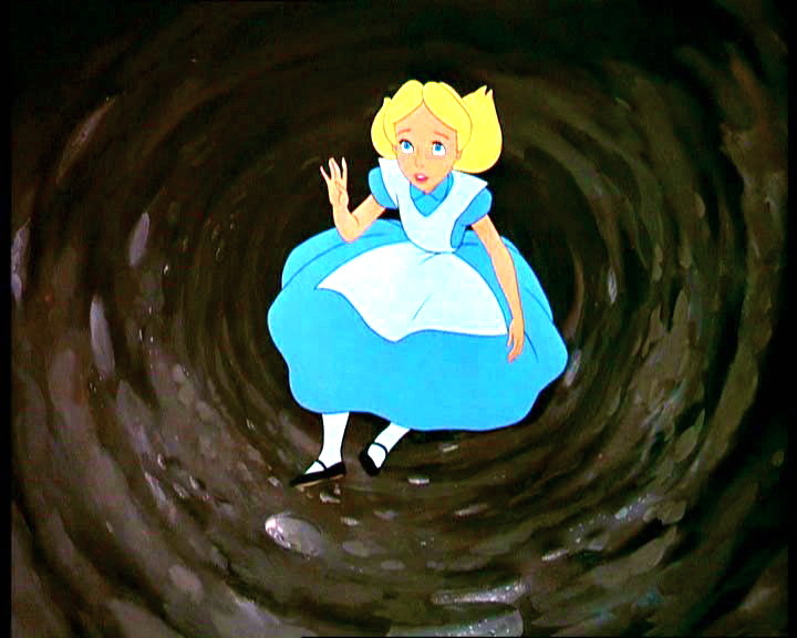 Alice Going Down The Rabbit Hole Can Also Be Another Metaphor  Her