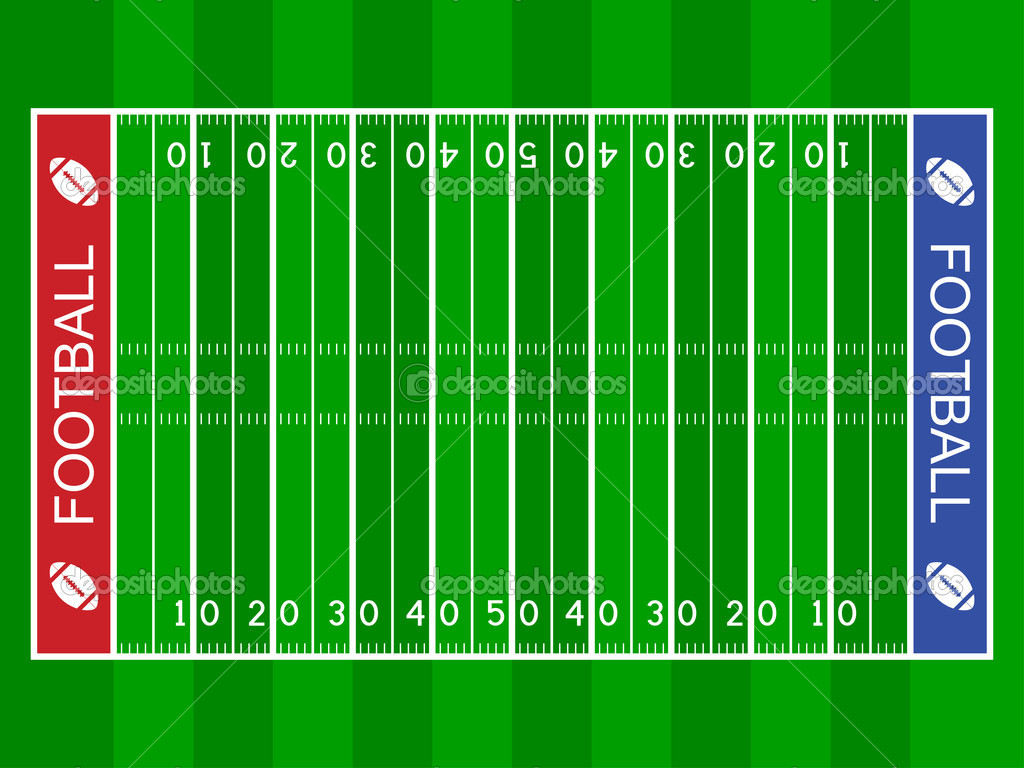 Clip Art Football Field Clip Art football field clipart kid american stock vector happyroman 11495100