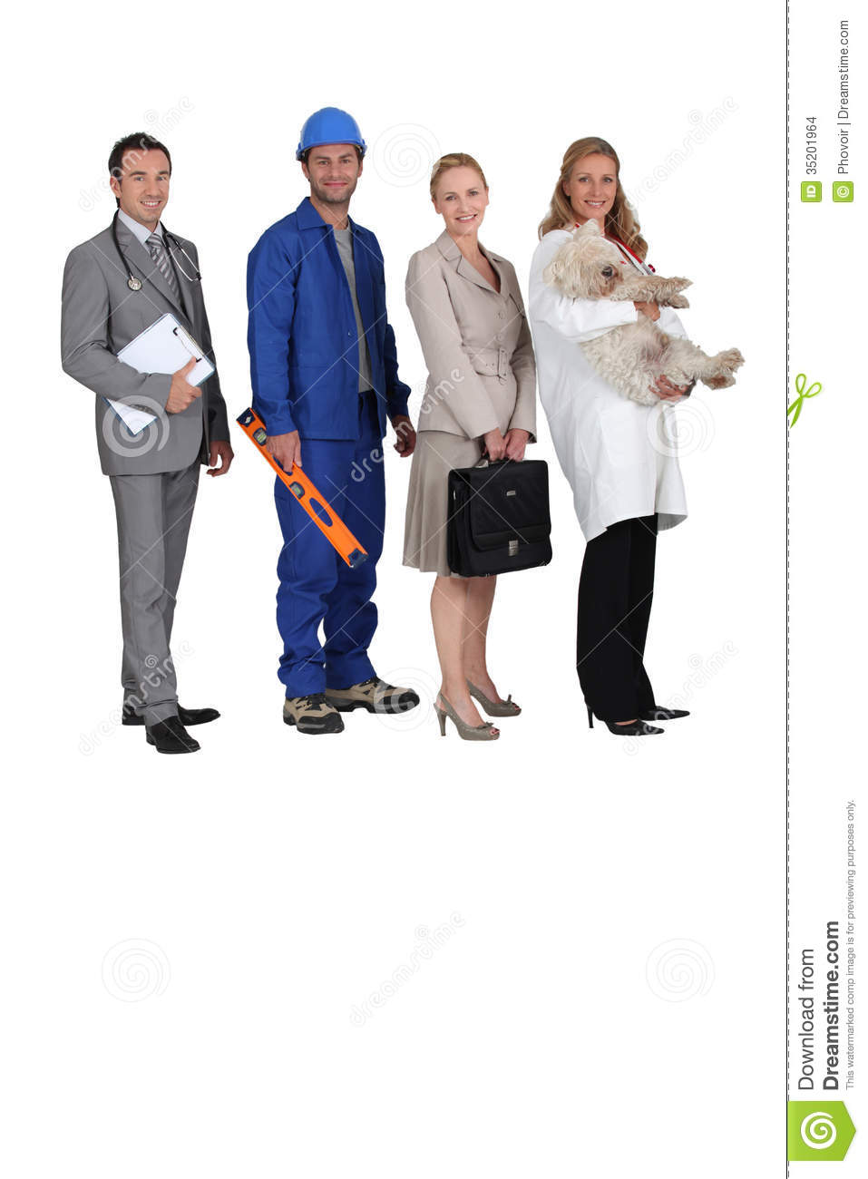Different Jobs Stock Images   Image  35201964