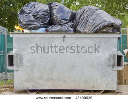 Trash Dumpster Clipart - Clipart Kid